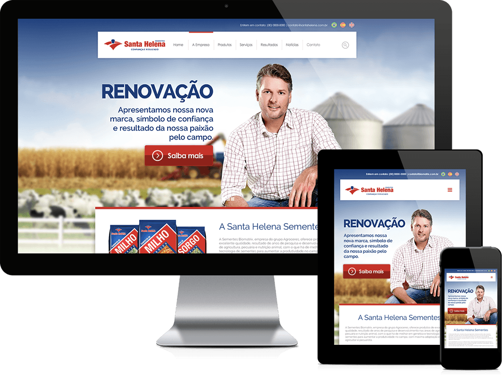 Website Santa Helena