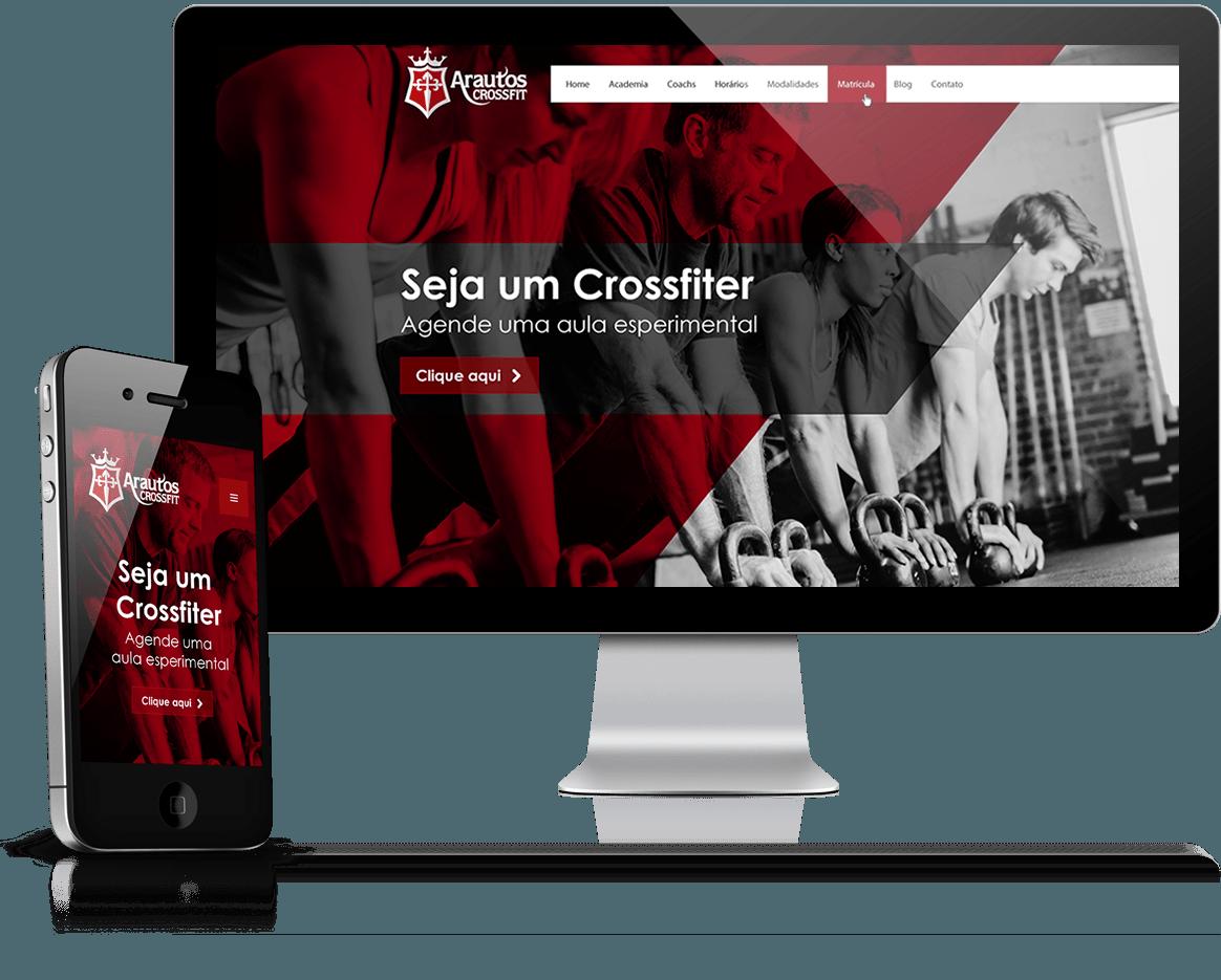 Criação de site e gerenciamento de redes sociais