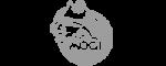 Mogi das Cruzes Basquete - Criação de logotipo, mascote e uniforme